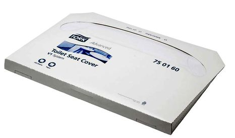 Hygienické podložky na WC dosku 250 ks Tork 750160