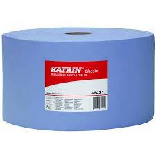 Papierové utierky v roli KATRIN L3 46421 modrá