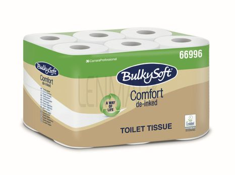 Toaletný papier mini rolky 2 vr. BulkySoft, dĺžka 18 m